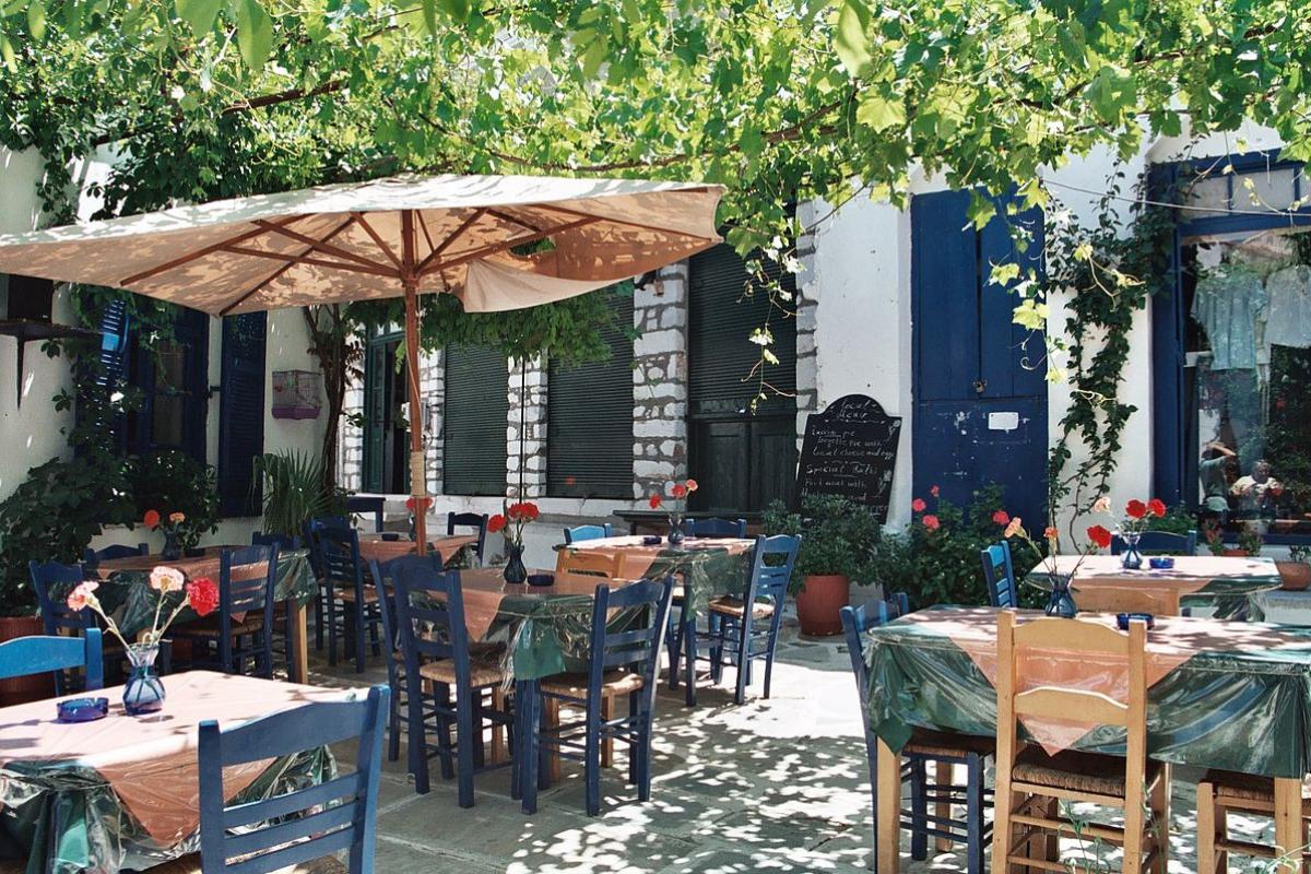 The Humble Origins of the Greek Taverna -