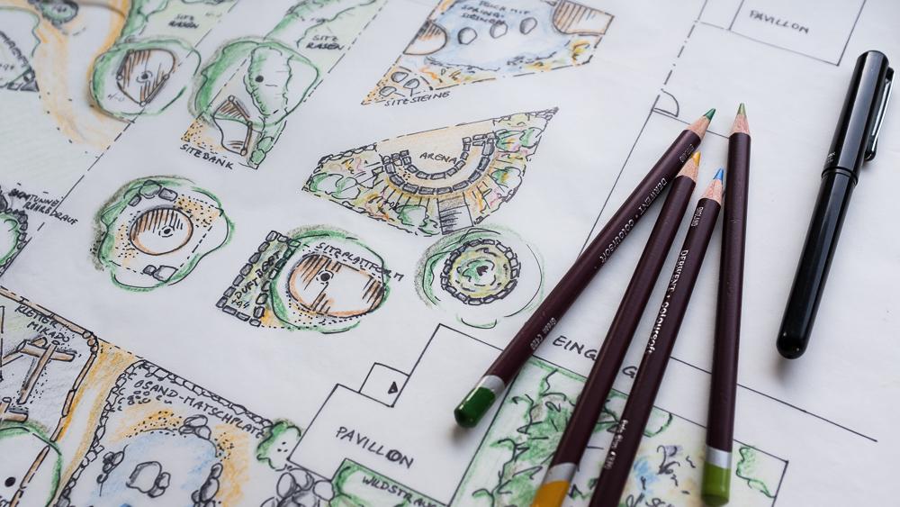 Naturerlebnisgarten in Planung