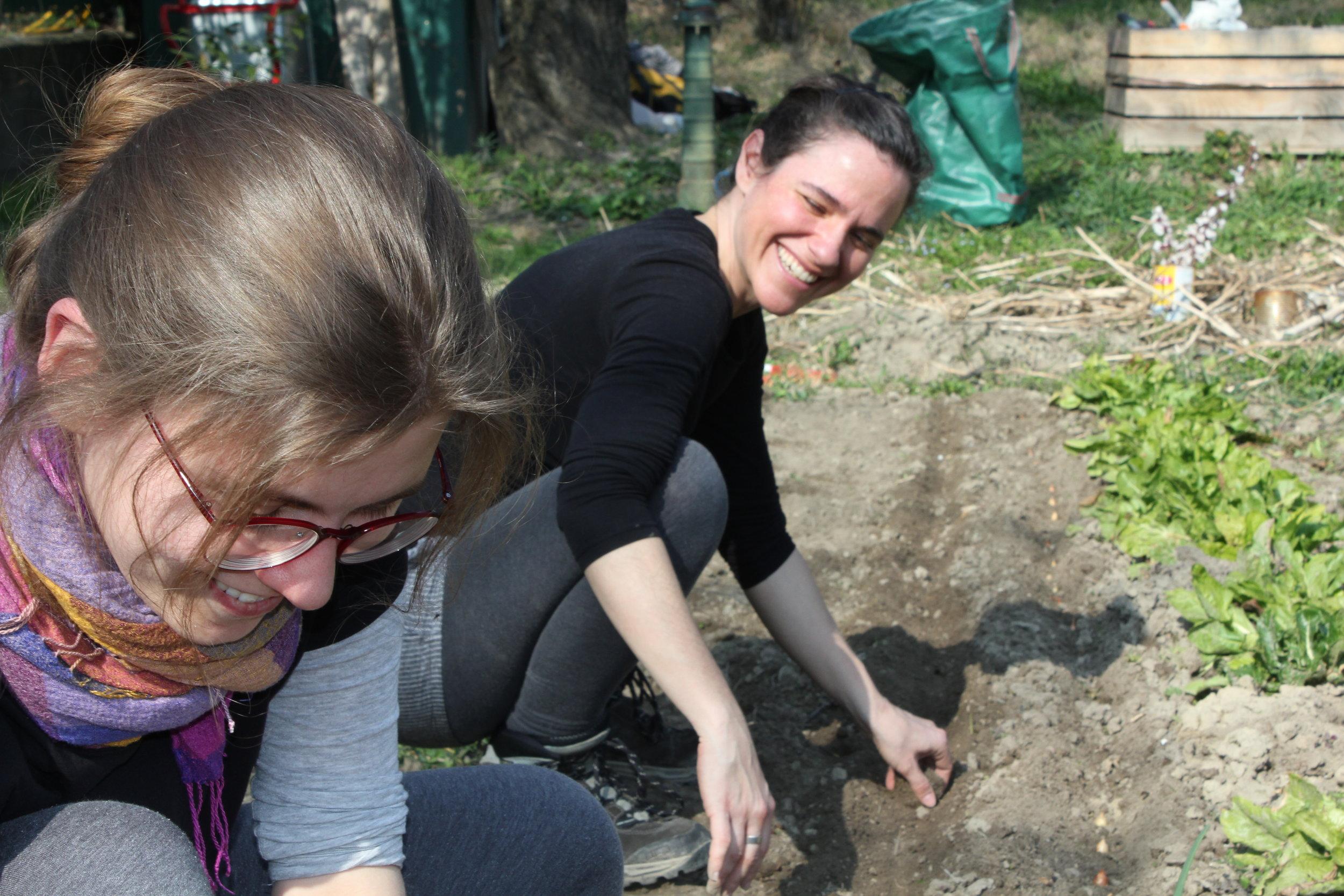 Gartenbegleitung bei Freunden