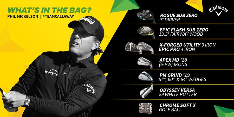 Mickelson - Whats in the bag