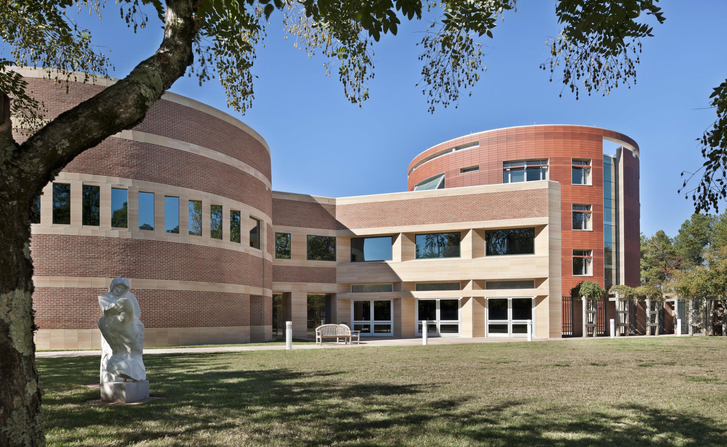 North Carolina Biotechnology Center photo full outside view