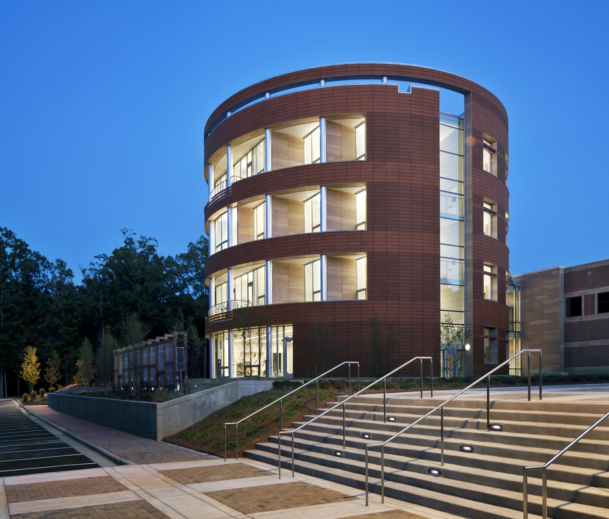 North Carolina Biotechnology Center photo rotunda