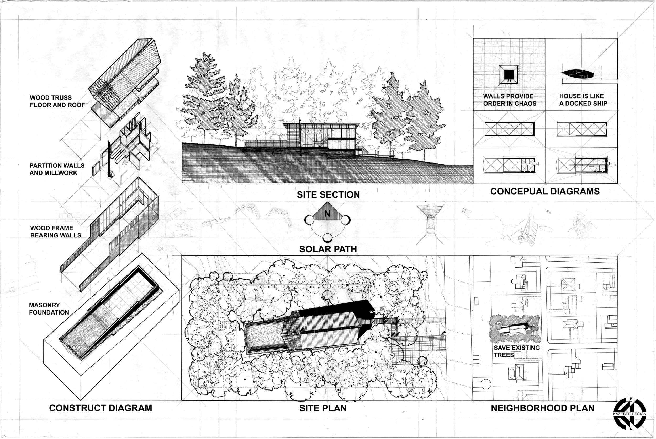 Kazebee House concept draft image