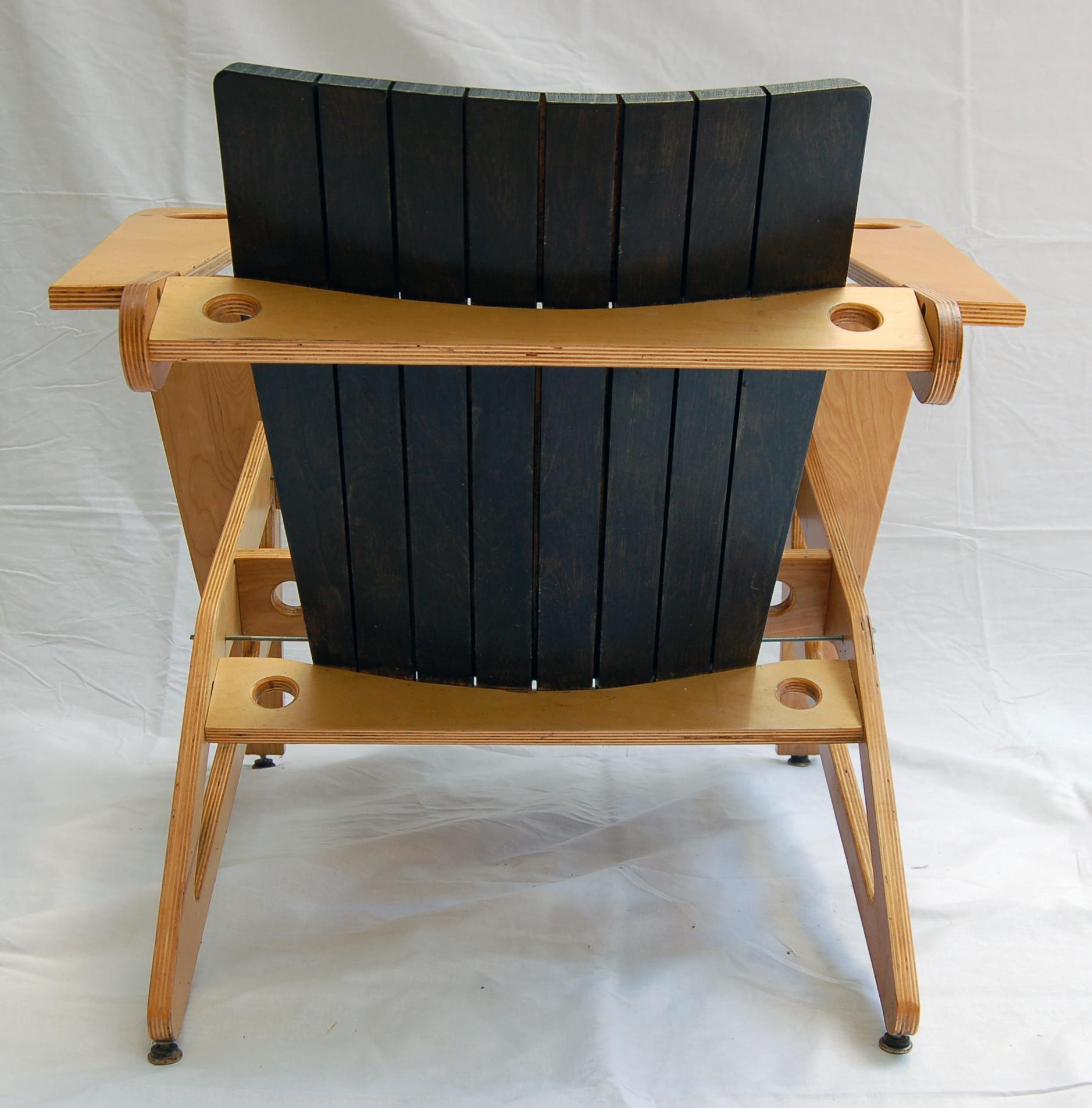 plywood chair back angle