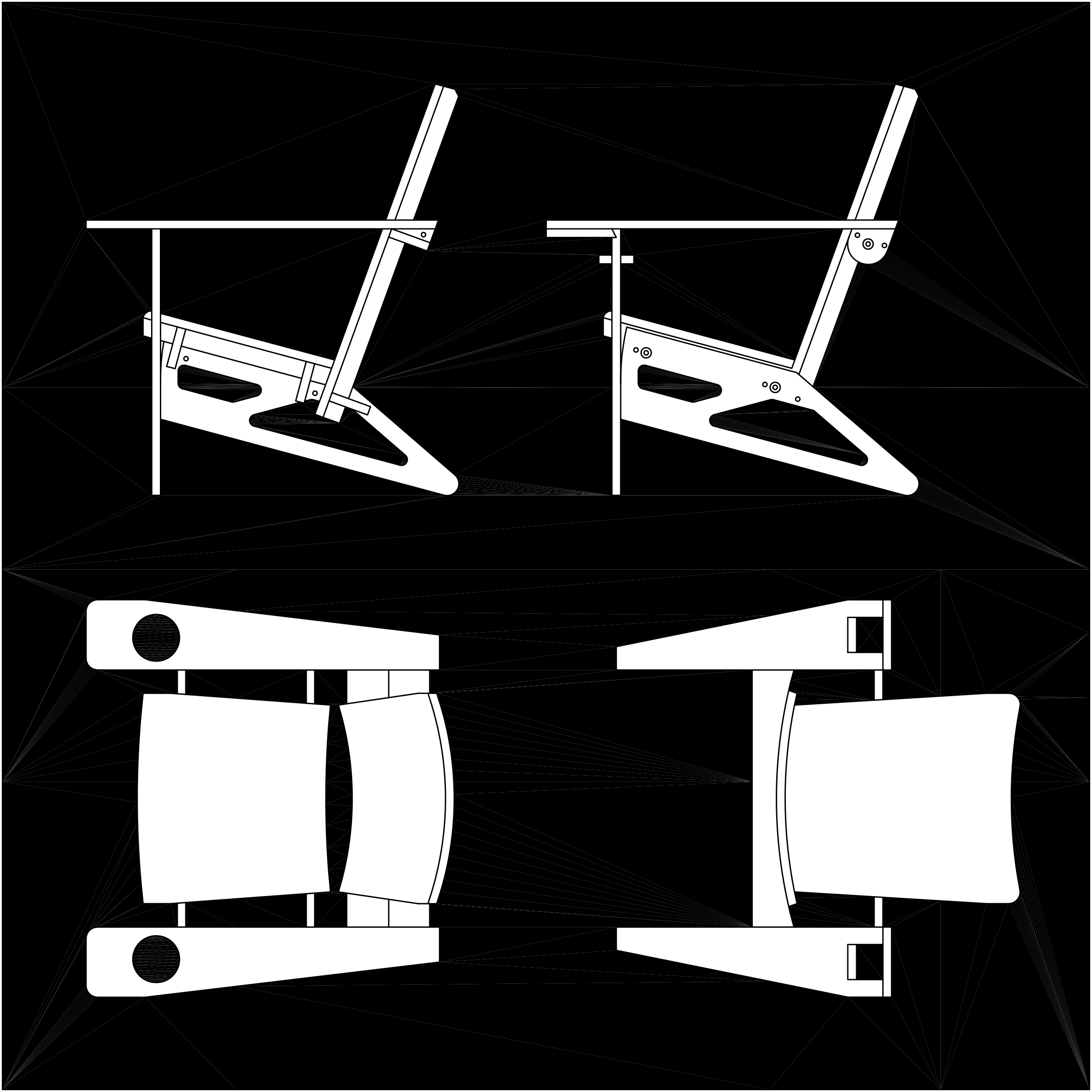 EARLY DRAWINGS OF CHAIR