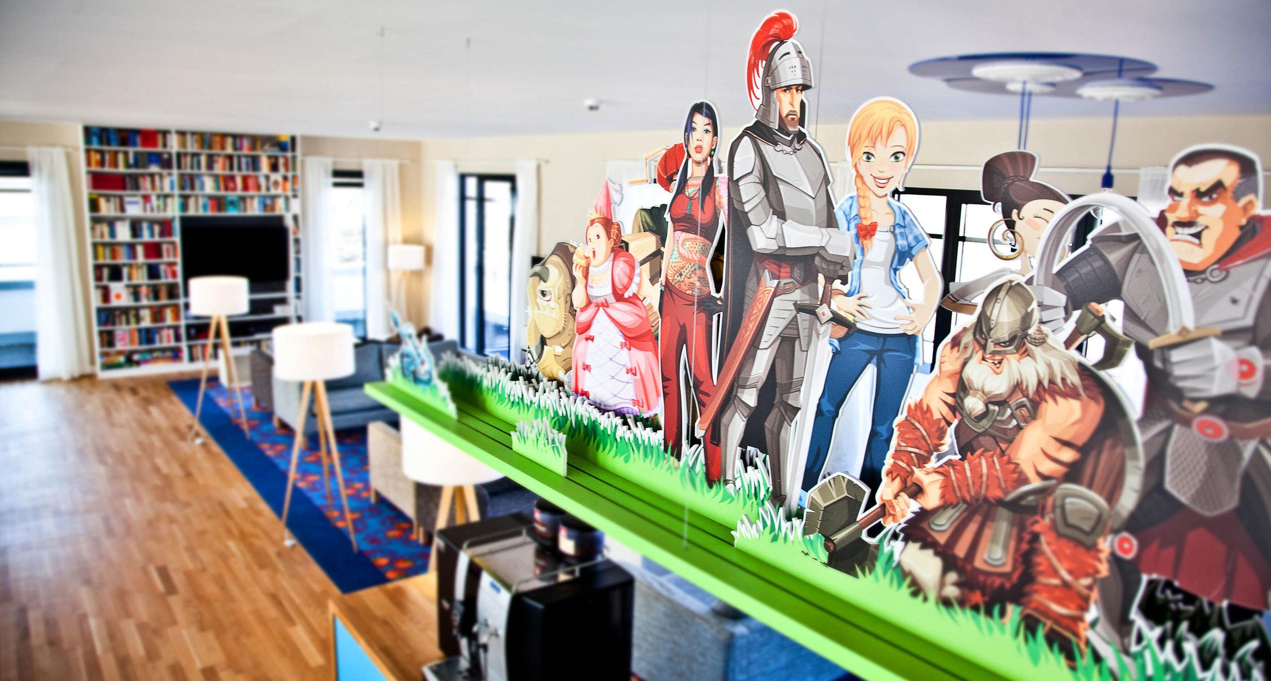 Gamers Kitchen. - Good Game Studios, Kantine, Hamburg