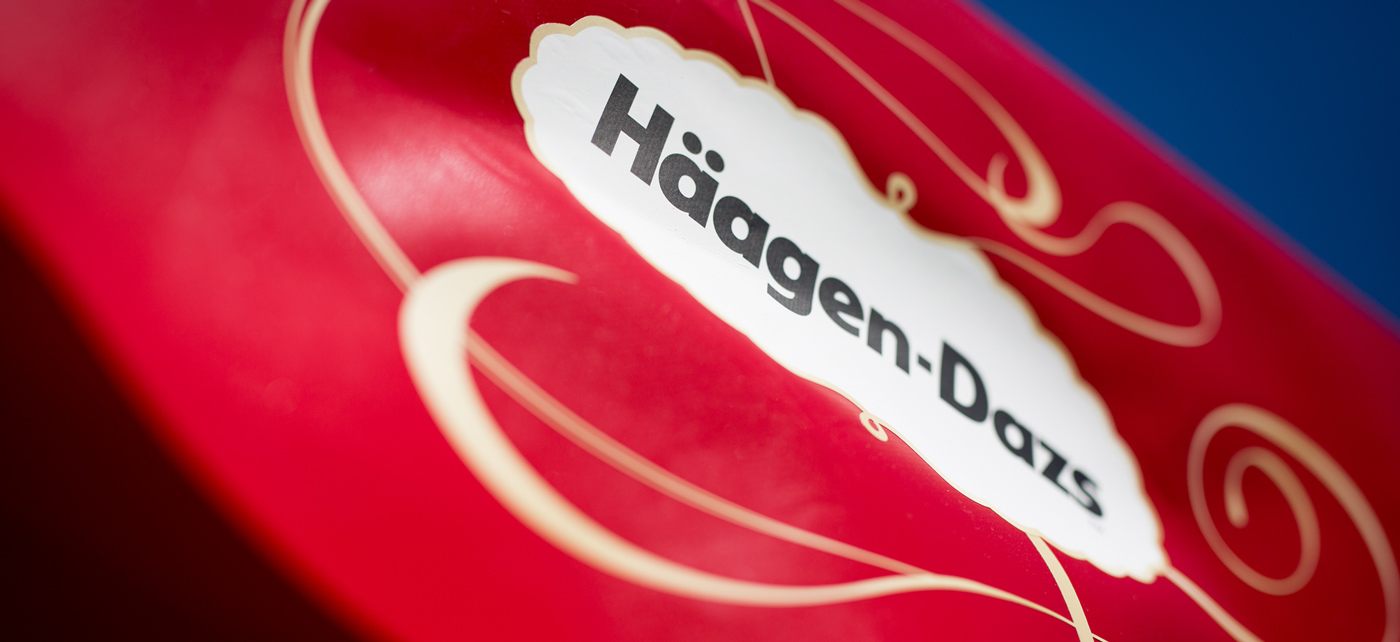 Blueberries & Cream. - Häagen Dazs, Promotion, deutschlandweit