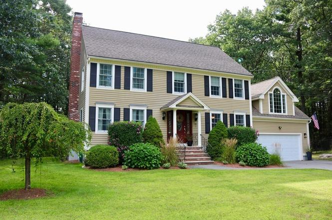 N. Reading, MA - Privacy, Privacy, Privacy! 25 Cedar Street in North Reading, MA sold in September 2017 at the first open house and sold over asking! Beautiful lot, colonial style home with all the amenities you could ask for.