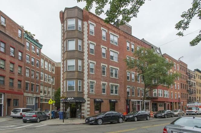 Boston, MA - This beautiful corner multi-family property is in the heart of the North End on Hanover Street. It consists of eight 1-bedroom/1-bathroom units and two commercial units. All units are renovated with white and oak kitchens, stainless steel appliances, hardwood floors and feature a tremendous amount of windows!