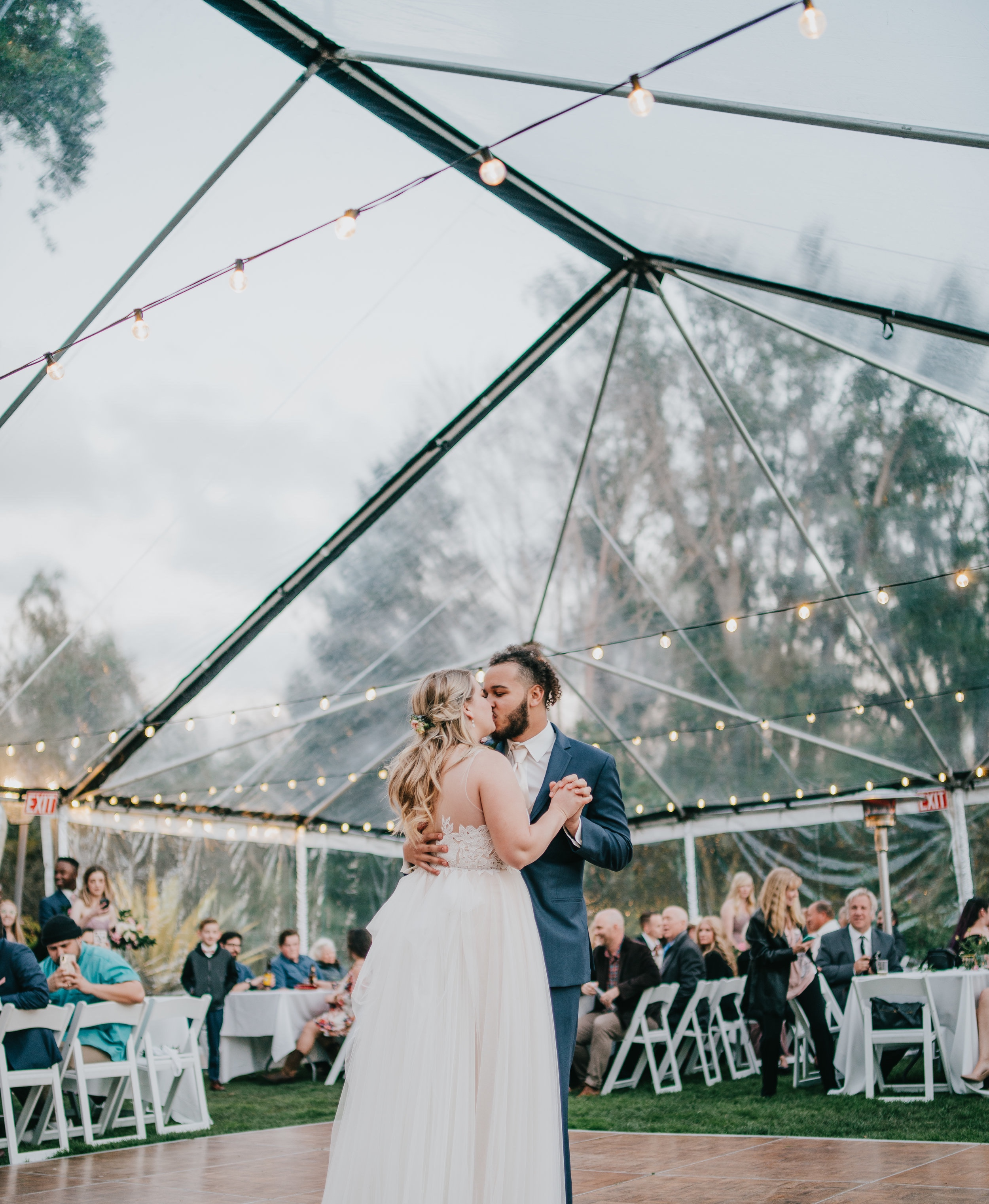 - You can get loads of incredible variations of festival wedding tents or tipis. The style is ultimately up to you, but it's perhaps best to shop around for the best fit first using your 'must-have' list and then look at aesthetics.
