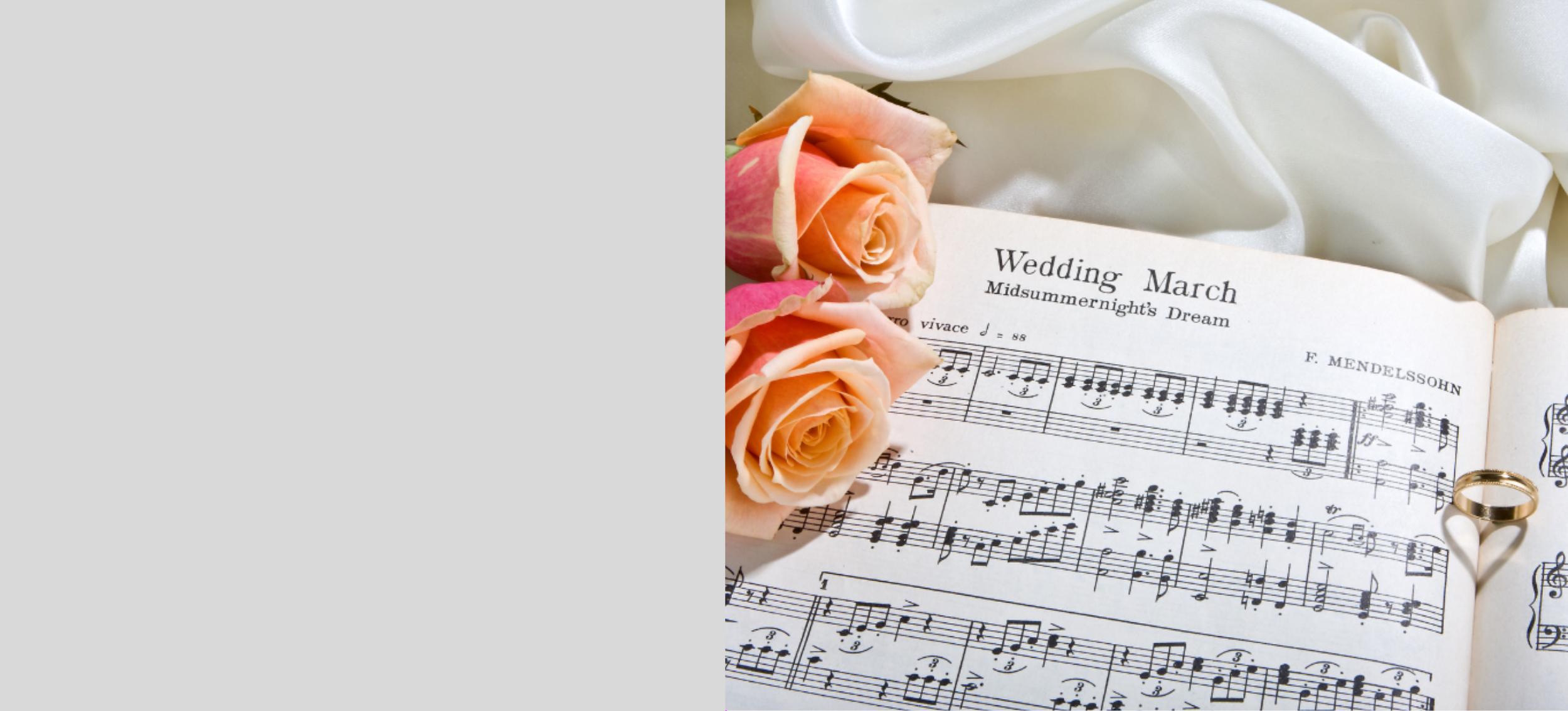 Choosingyourweddingmusic -