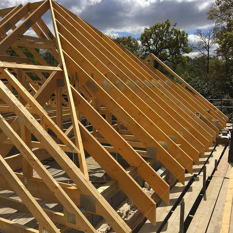 Pitched Roofs - We can install traditional cut and pitch roofs, Truss roofs, flat roofs and dormers.