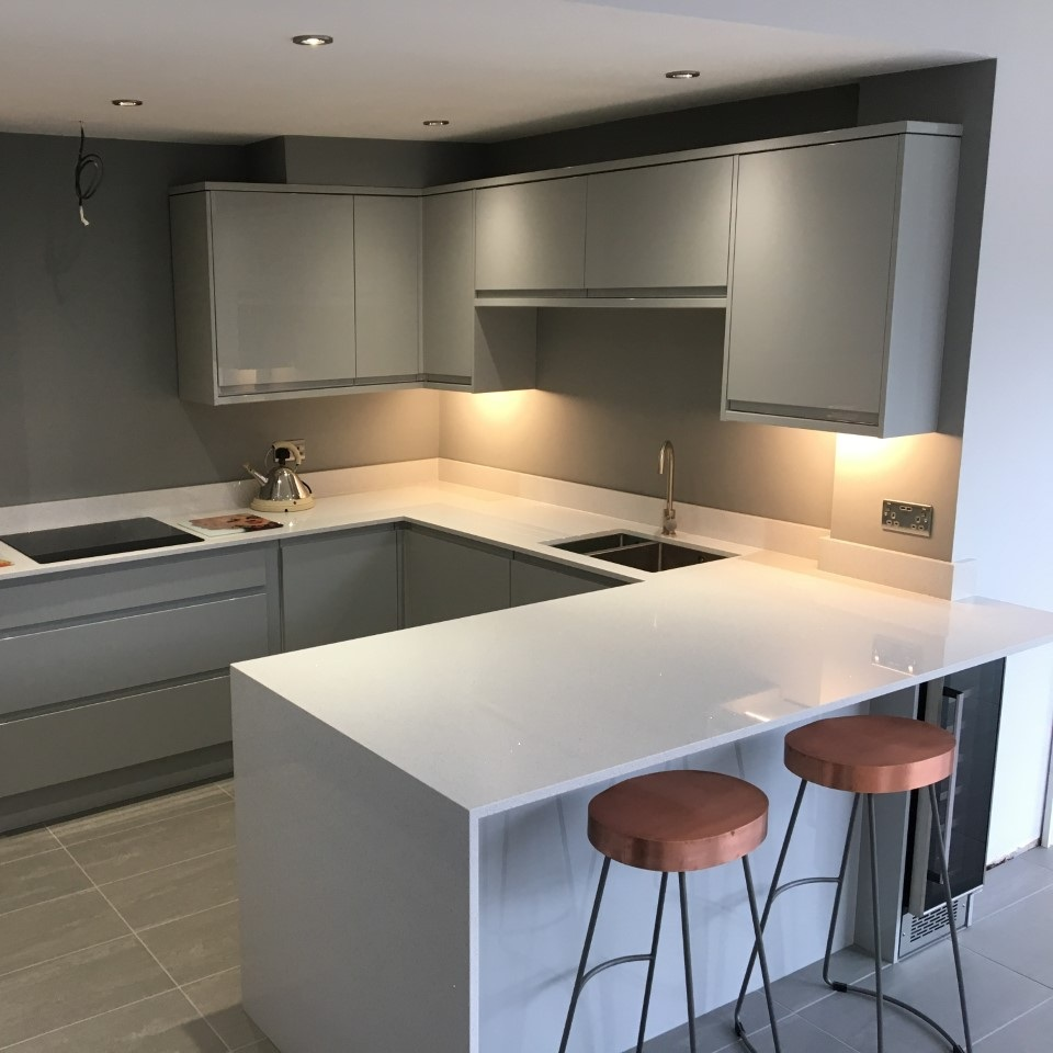 Kitchens - The heart of the home! We install all kitchen manufactures, and can also recommend a fantastic granite/quartz fitting service.