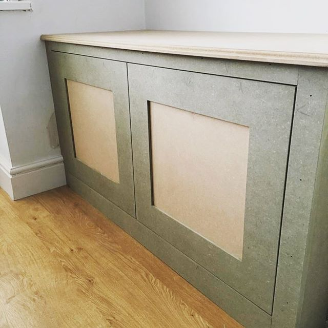 Bespoke alcove cabinet finished today. I love these kind of jobs, for me they come with great job satisfaction because I get to take it from an 8x4 sheet of mdf in the timber yard to a bespoke fitted cabinet in a clients home. All constructed from mdf, with Blum soft close cabinet hinges. Ovolo router detailing to counter top edge to finish. Shaker style doors with 6mm mdf centre panels. #eastwoodcarpentry #eastwoodcarpentrybuildingltd #surreycarpentry #alcovecupboards #mrmdf #shakercabinets #shakerdoors #bespokecabinetry