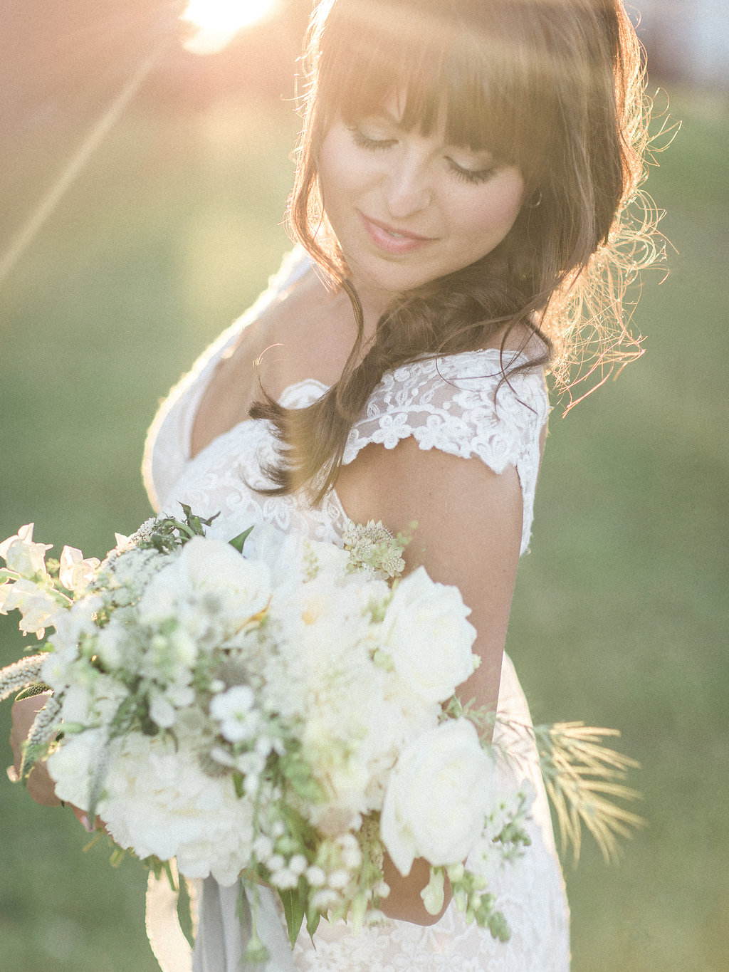 Sugarberry Blooms floral design for Water Styled Shoot at Blue Bell Farm in Fayette MO