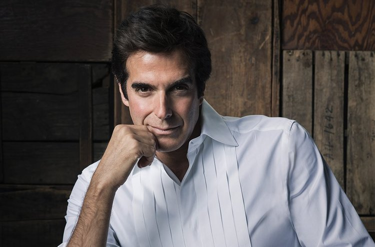David Copperfield. Photo by Emma Summerton