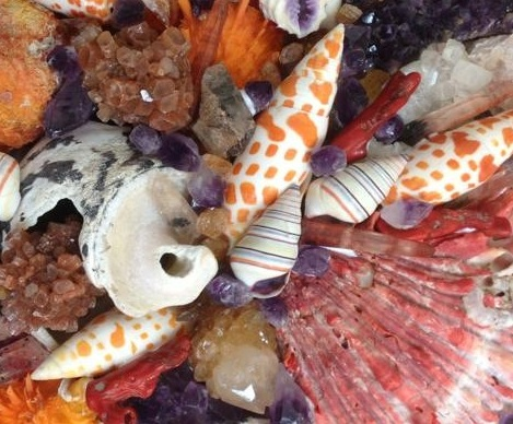 Neptunian Alchemy Revisited 1b Amethyst and Coral 1 - Detail.JPG