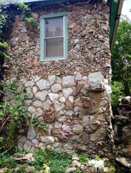 "A childhood visit to Quigley's Castle, the ""Ozarks' Strangest Dwelling,"" would become a source of inspiration for Connie."