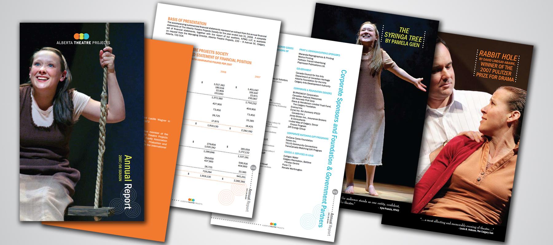 Alberta Theatre Projects | 2008 Annual Report
