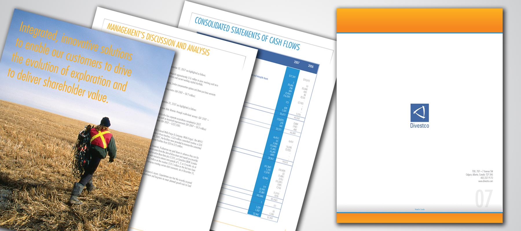 Divestco | 2007 Annual Report
