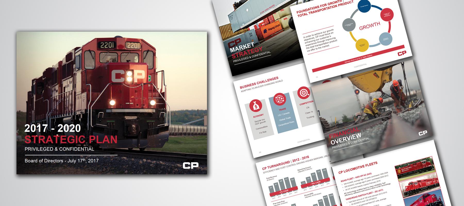 Canadian Pacific Railway | Strategic Plan