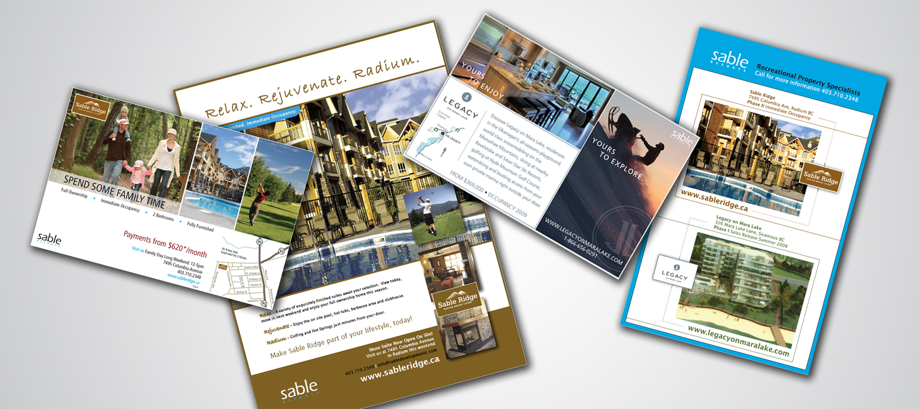 Sable Developments | Advertising Collateral