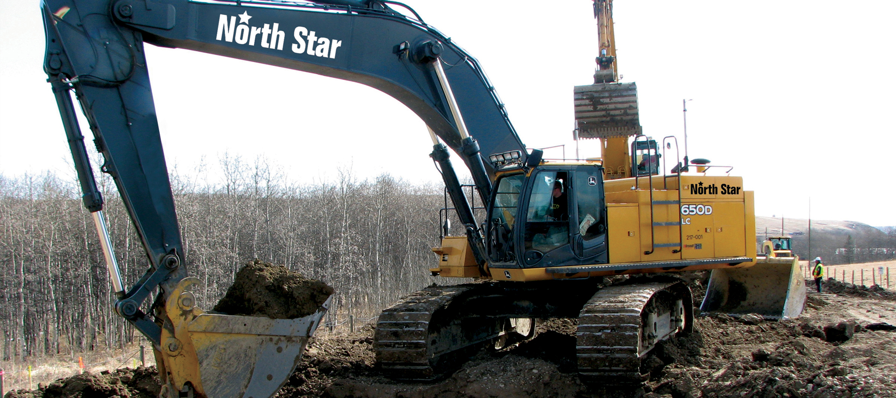 North Star Contracting | Equipment Decal