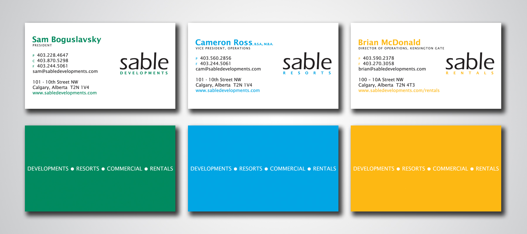 Sable | Business Cards