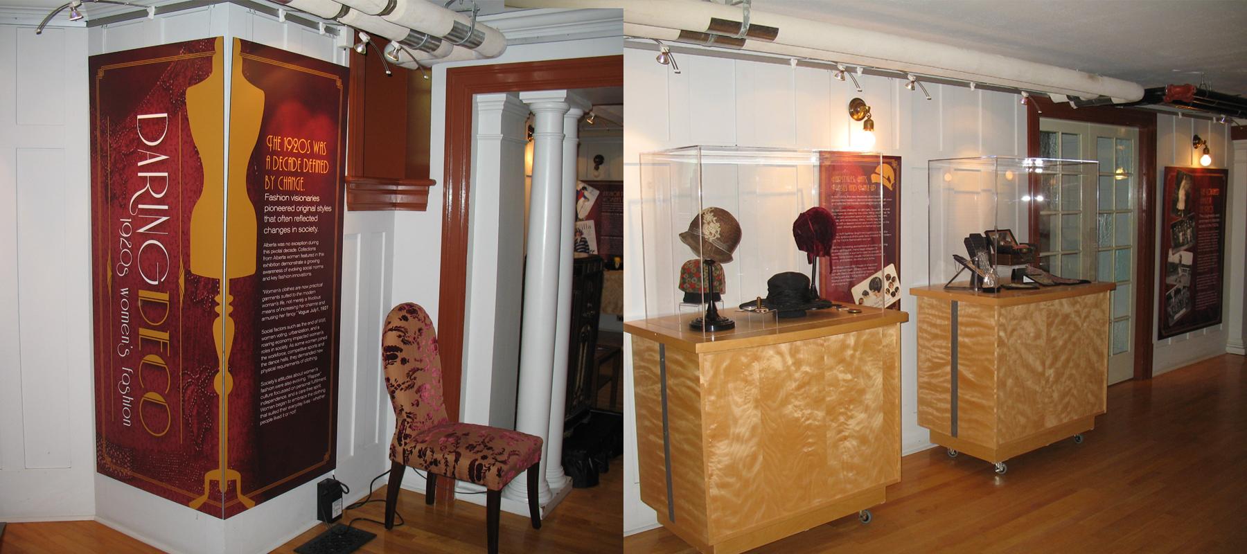 Lougheed House | Daring Deco Exhibit