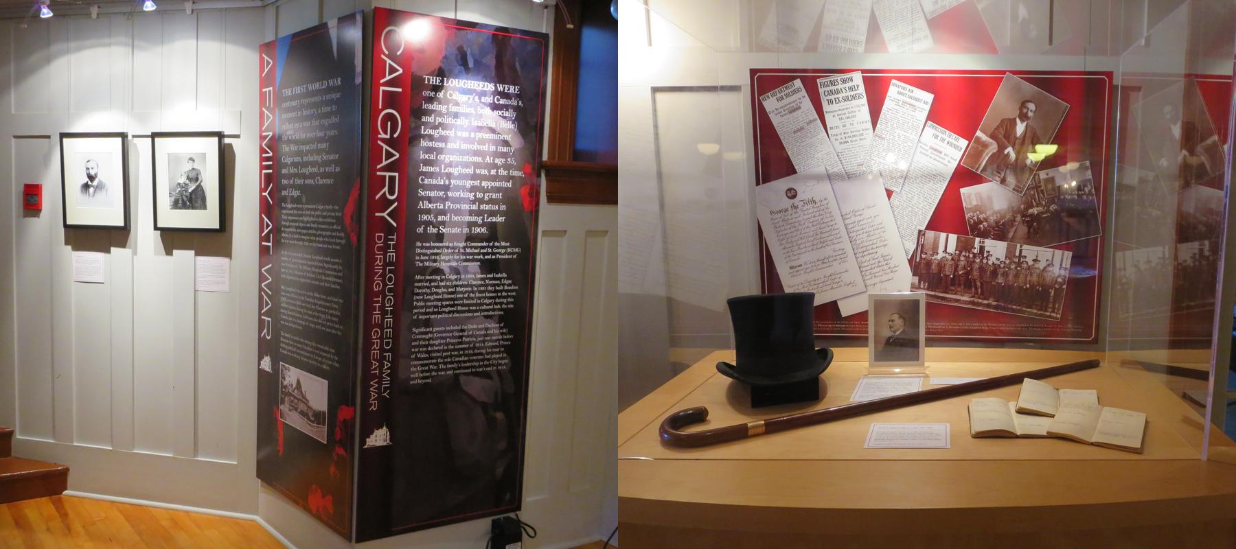 Lougheed House | A Family at War Exhibit