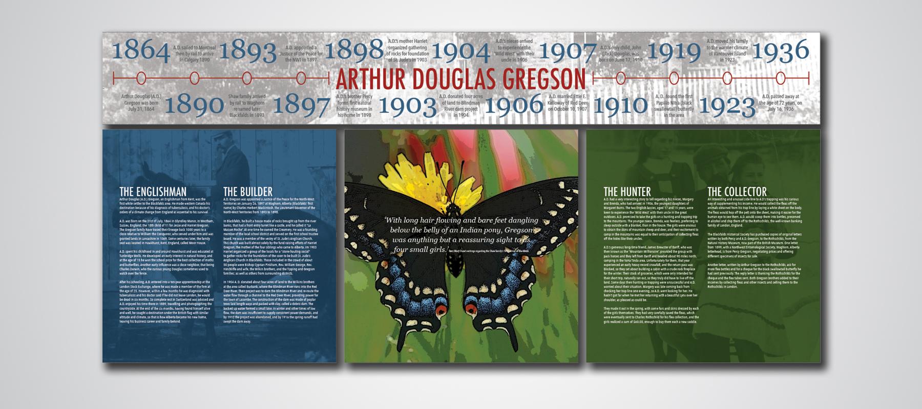 Blackfalds Historical Society | Arthur Gregson Exhibit
