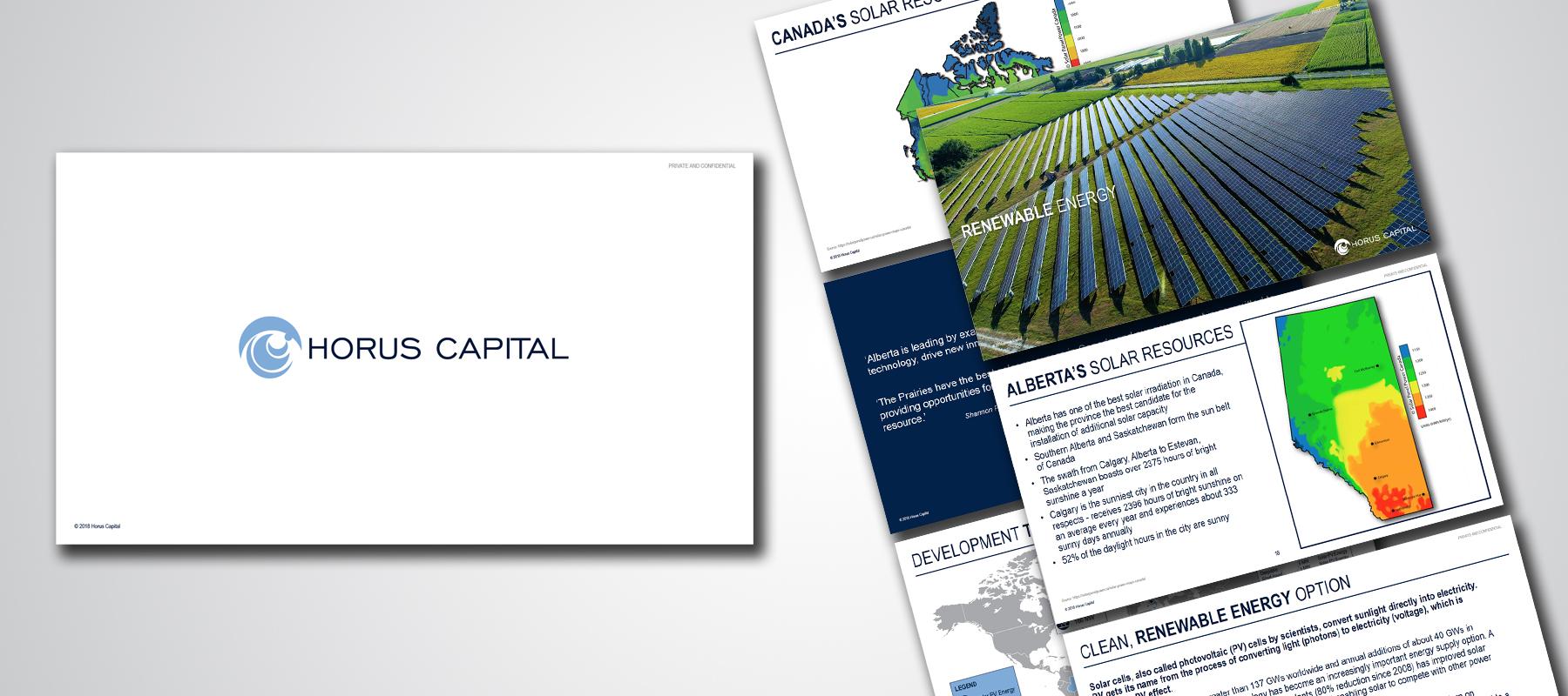 Horus Capital | Pitch Presentation