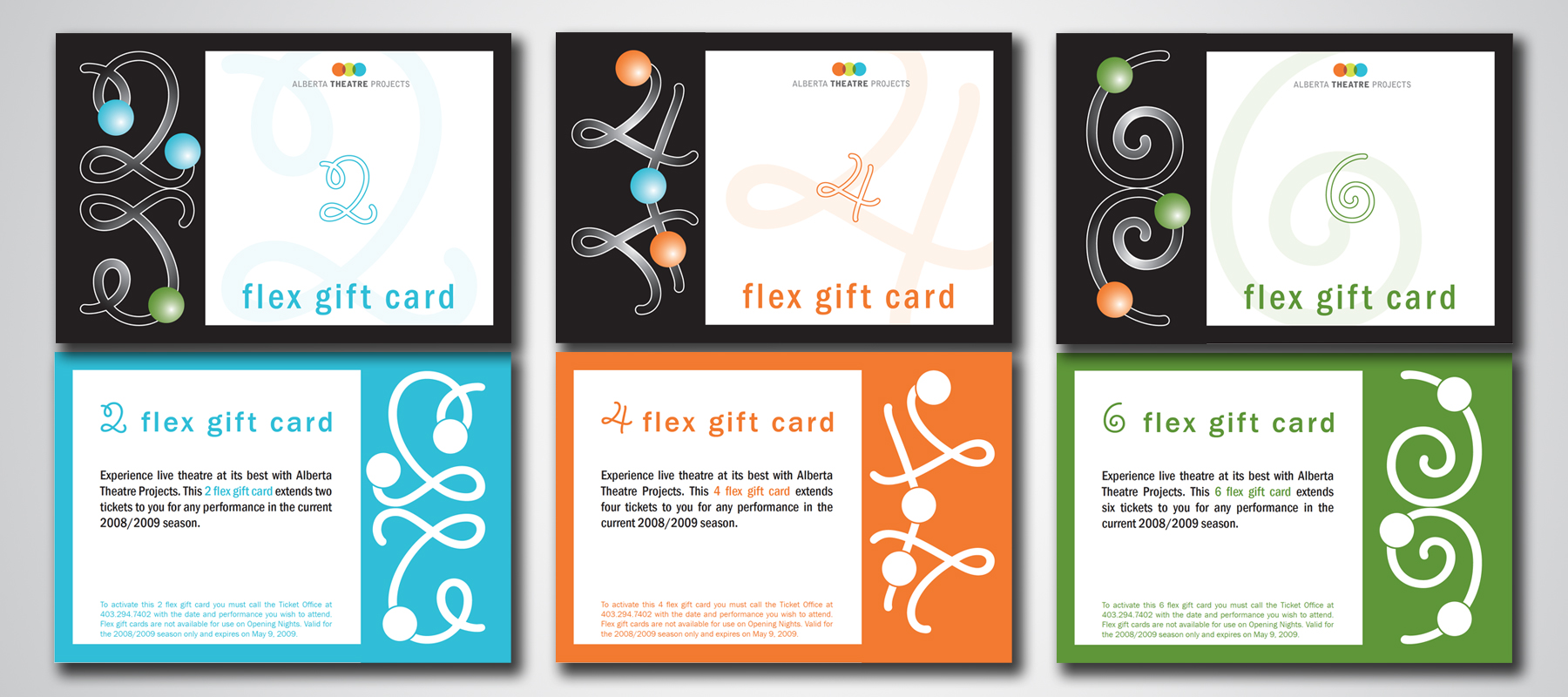 Alberta Theatre Projects | Flex Gift Cards