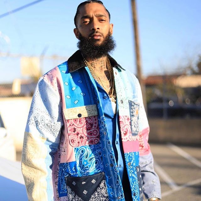 💙 We can't let you down. We can't let your message die. You can kill the body, but never the soul. We love you Nip. 😢  #ripnipseyhussle #nipseyhussle