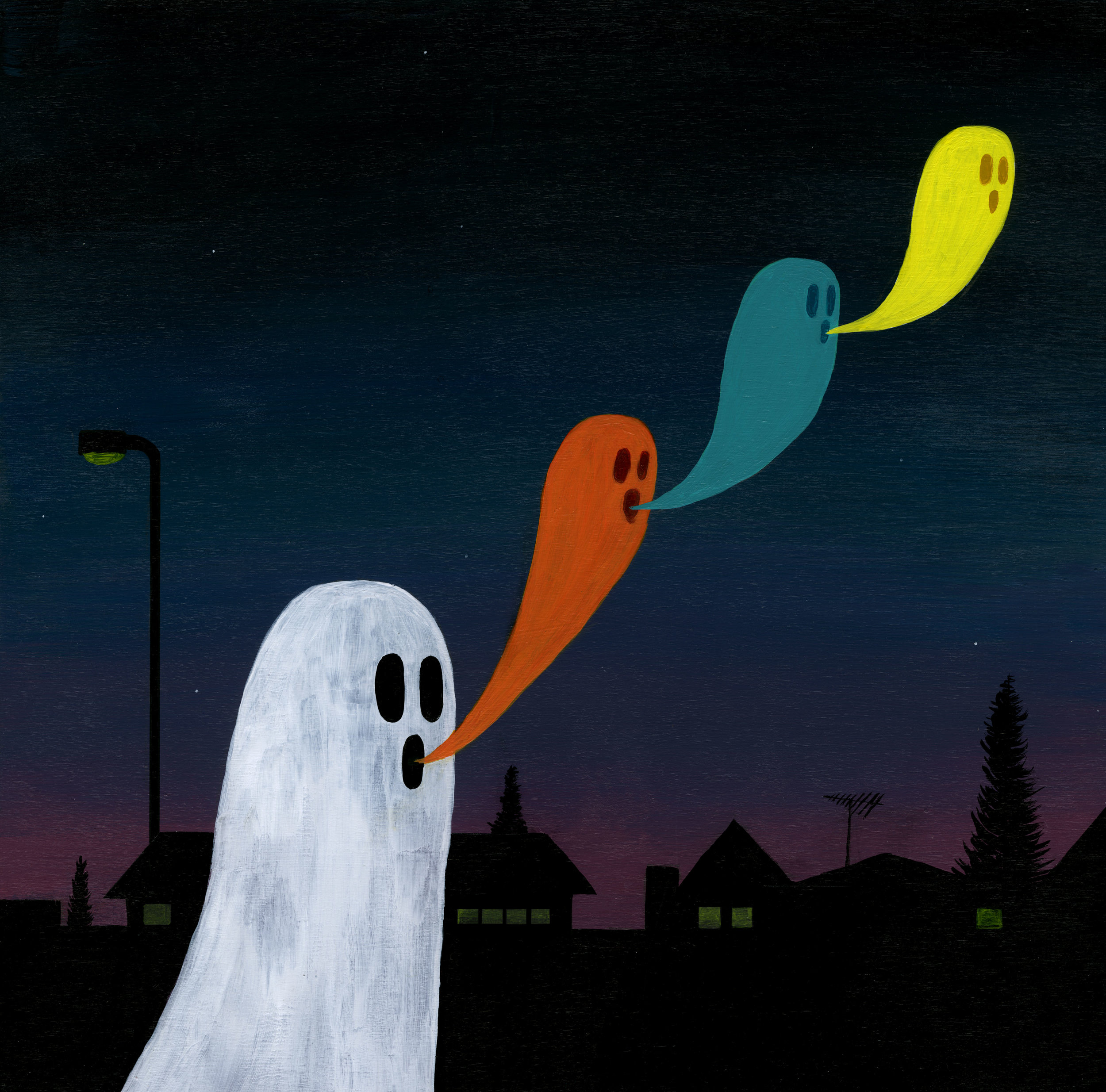 neighborhood ghosts, 2018