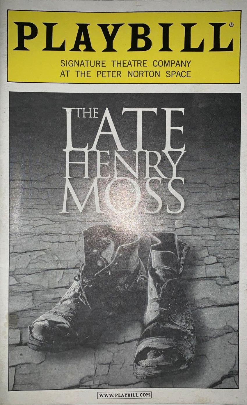 2001 The Late Henry Moss.jpg