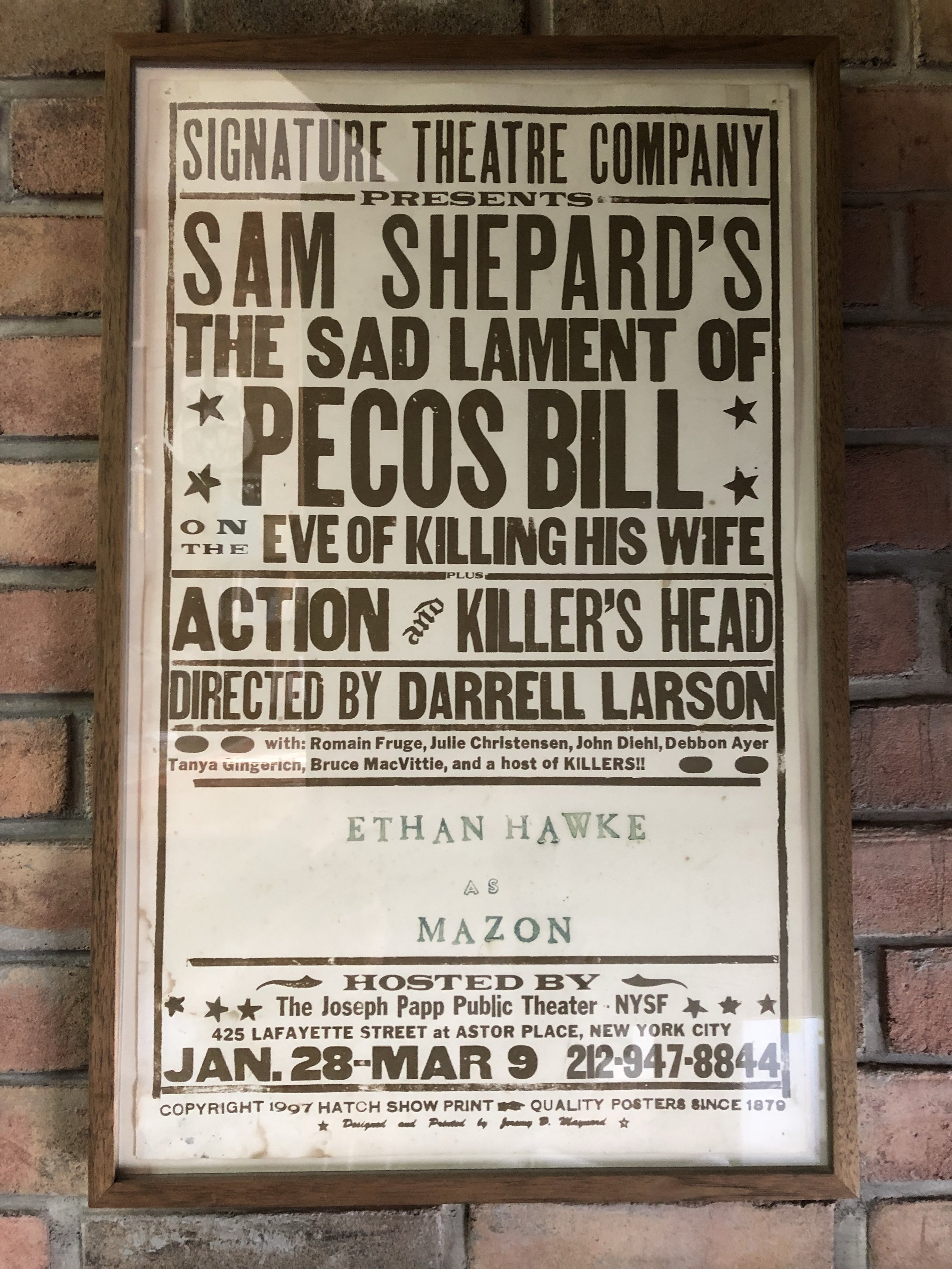 1997 Sad Lament of Pecos Bill Poster Photo.jpg