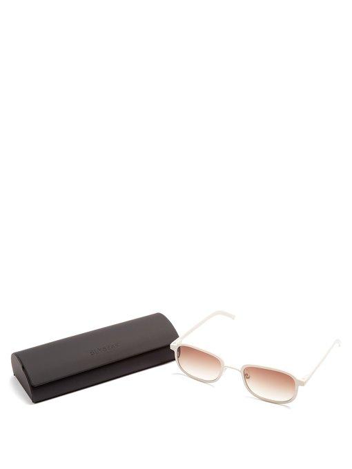 III squareframe metal sunglasses Blyszak Ivory Metal Men Cool Beach Wear New 1216255_2.jpg