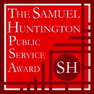 Samuel Huntington Public Service Award   This generous $15,000 fellowship award helped to solidify the work of Cocoa360 as a public service.