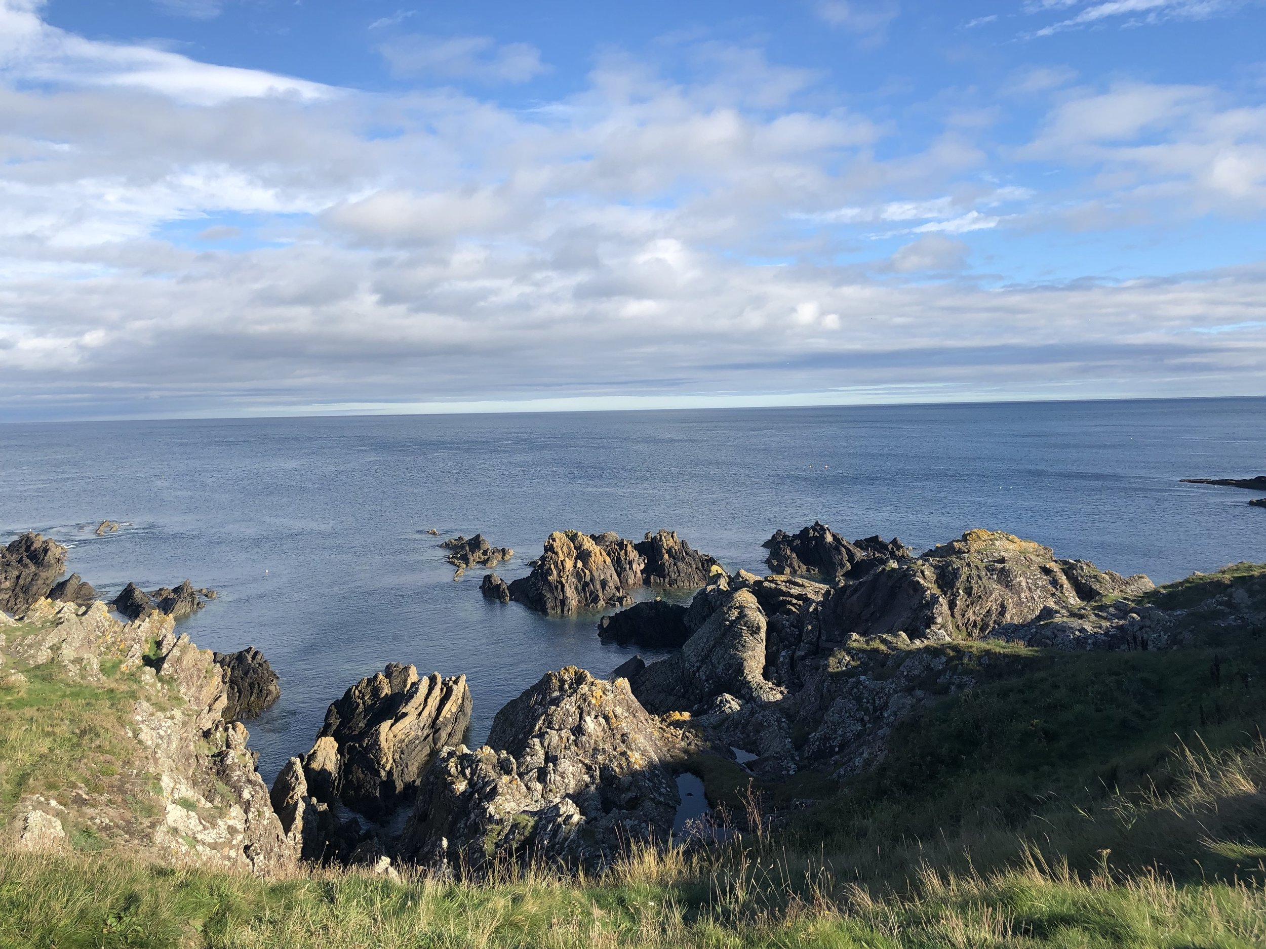 Beautiful East Lothian coastline