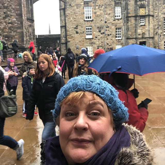Yes sometimes it rains in #edinburgh .  About 190 days a year to be precise.  But don't let that put you off, most of the time it is smirr (Scots word for light rain) and our annual rainfall is less than Rome @guided_tours_of_edinburgh #thisisedinburgh #edinburghsnapshots #edinburghguide #bluebadgetouristguide #rainydays #guidedtours #edinburghcastle