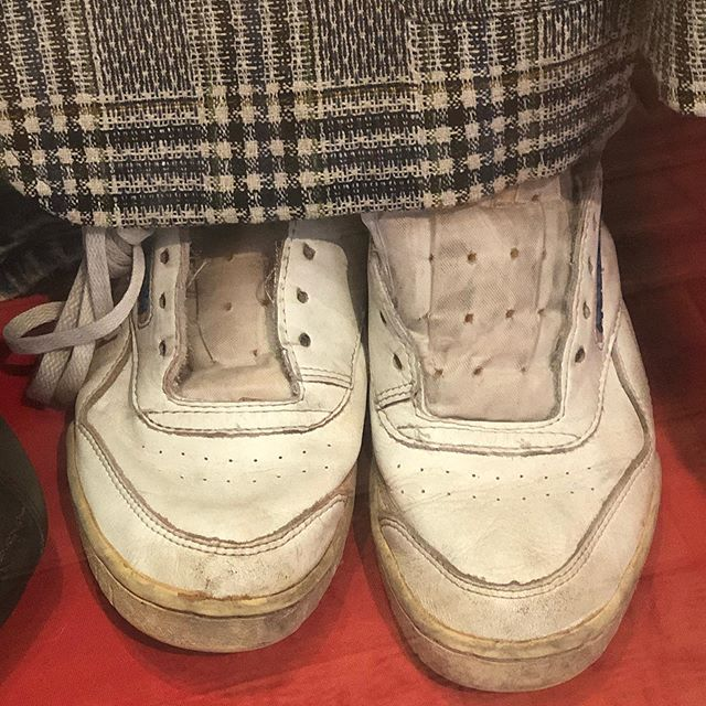 A wee day trip from Edinburgh.  A starter for ten and a test of true Scottishness.  Do you recognise these shoes? #peoplespalace #peoplespalaceglasgow #glasgowgreen #glasgow #rabcnesbitt #bluebadgetouristguide @guided_tours_of_edinburgh #guidedtour #guidedtours #scotland #comedy #bbc #localguides #bluebadgeguidescotland #simplytrafalgar #insightmoments