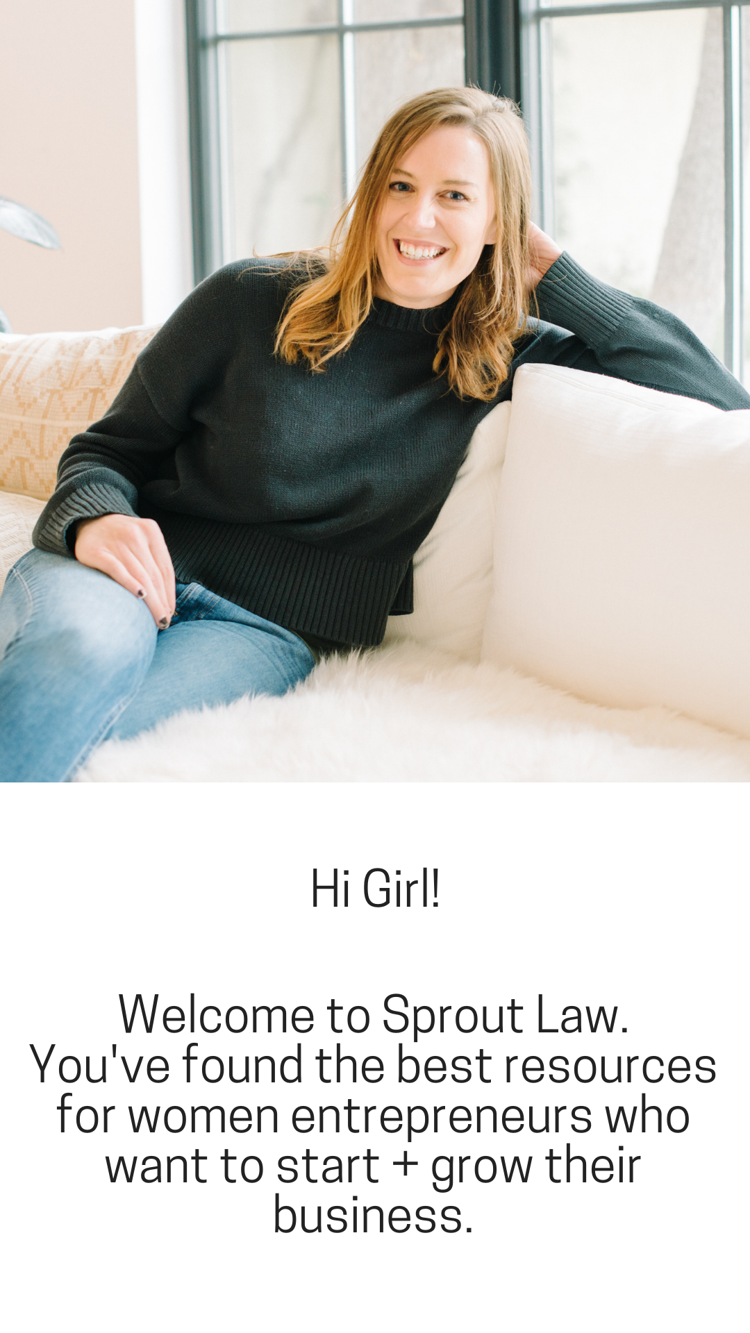 Nicole Swartz, Sprout Law