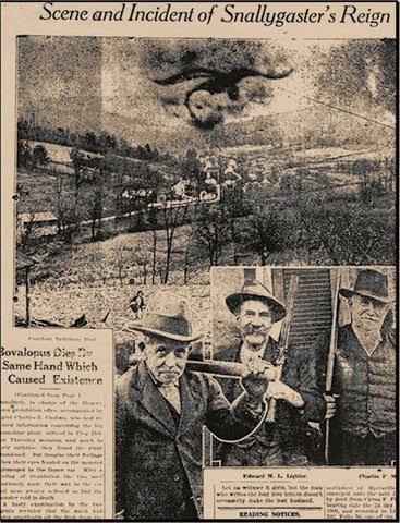 Newspaper Article on the Snallygaster