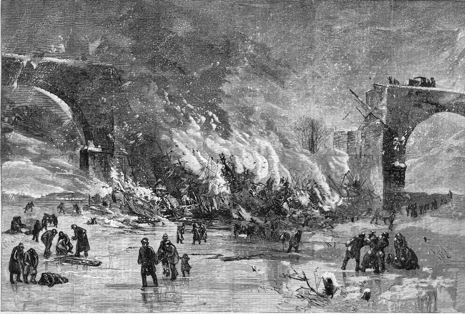 Ashtubla Train Wreck Woodcut (Wikipedia)