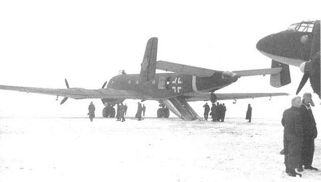 Junkers Ju-390 Plane