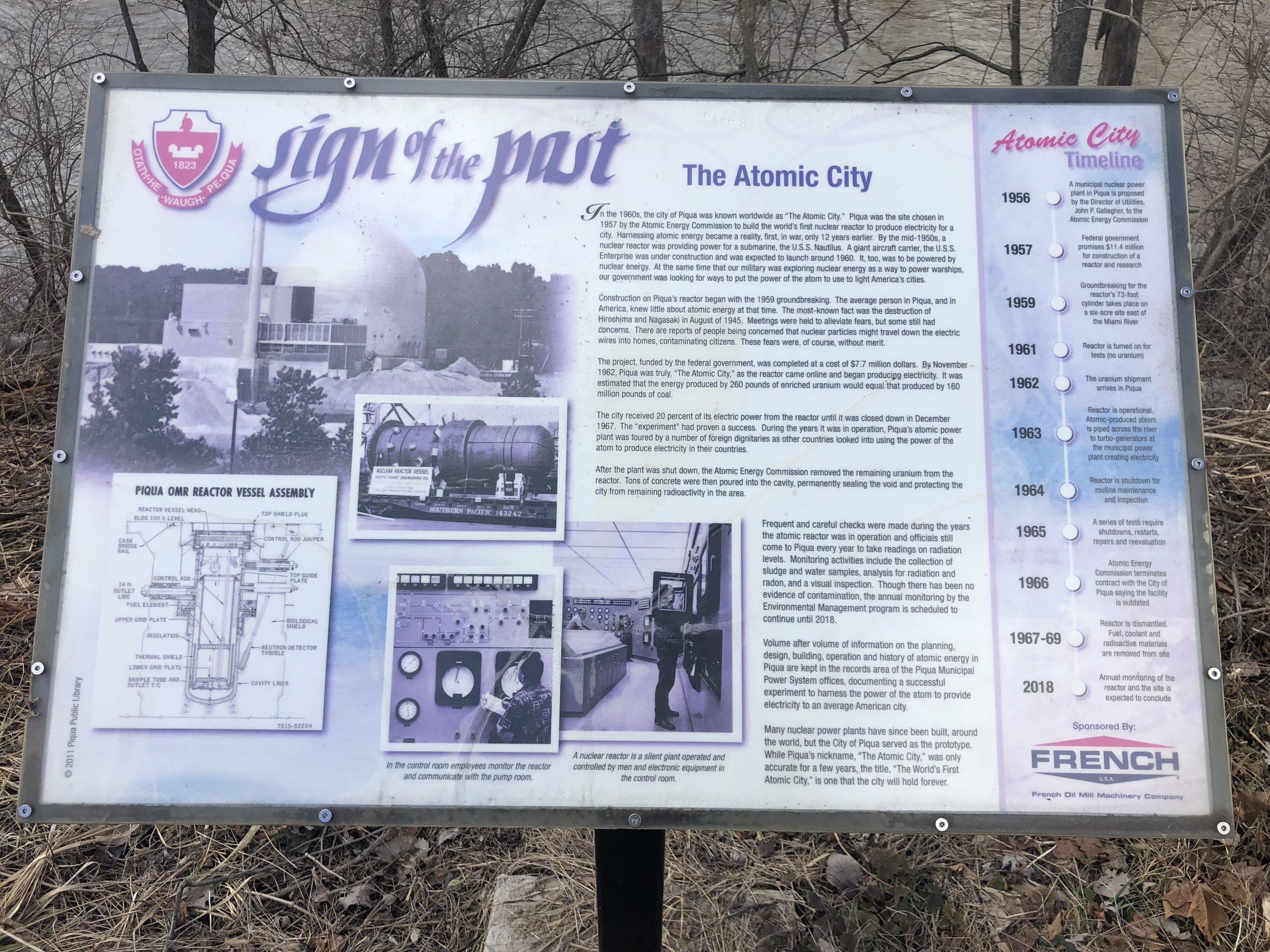Nuclear Plant Placard (STScast)