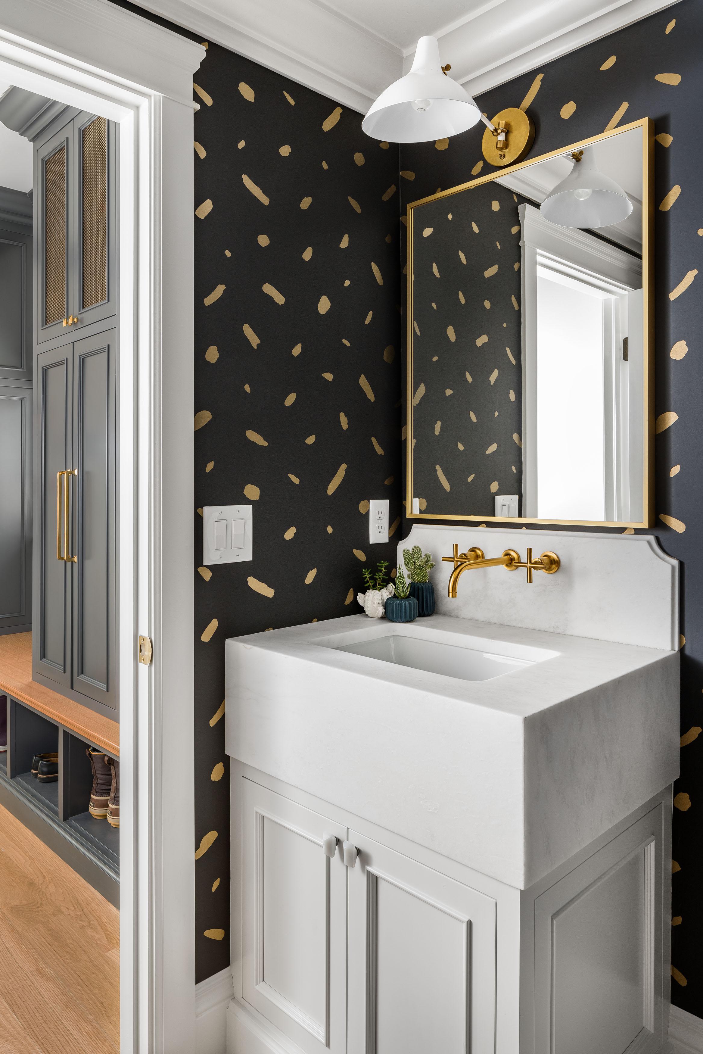 Bathroom Wallpaper Details Herbert Ave