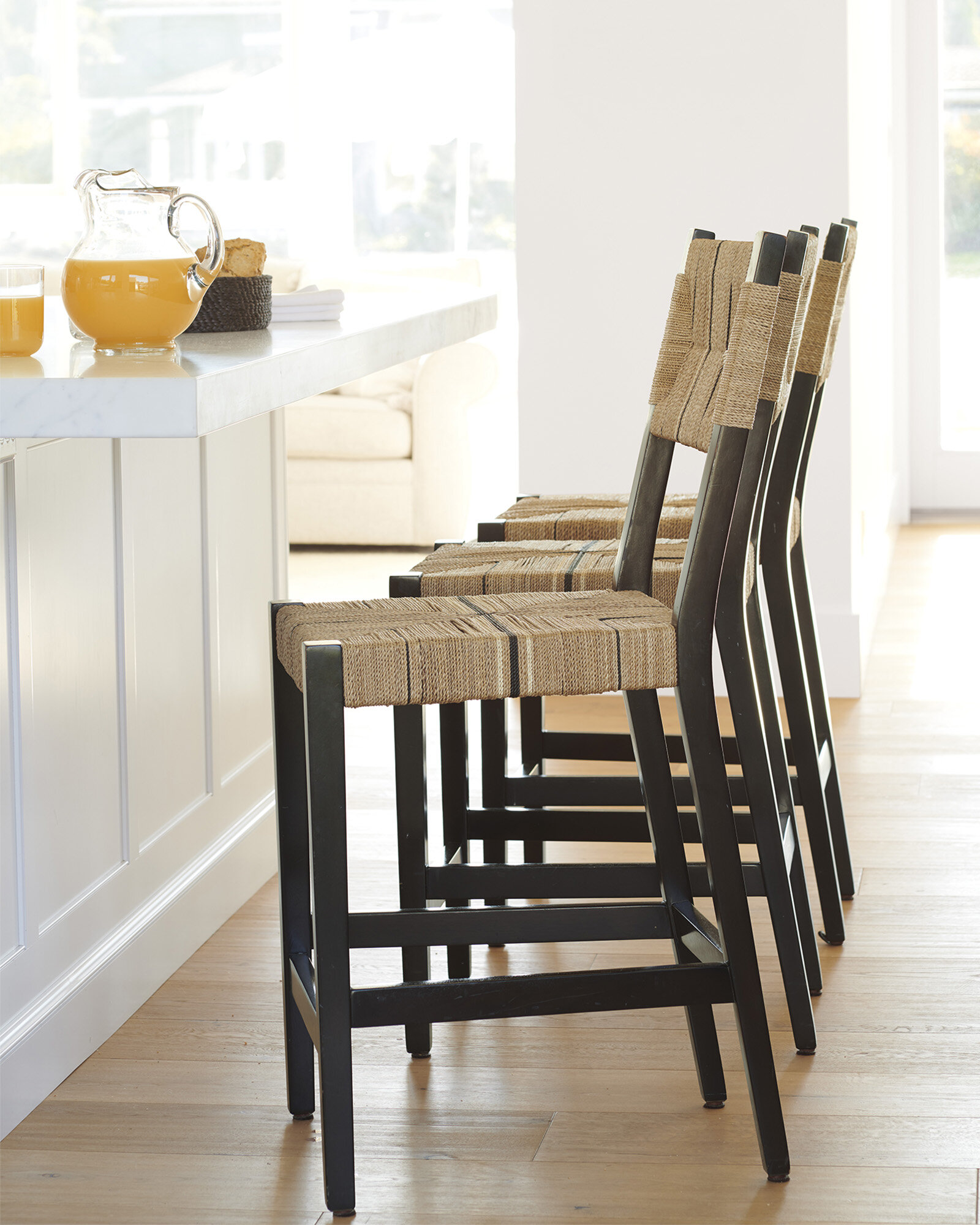 Marianne Recommends Black Counter Stools W Design