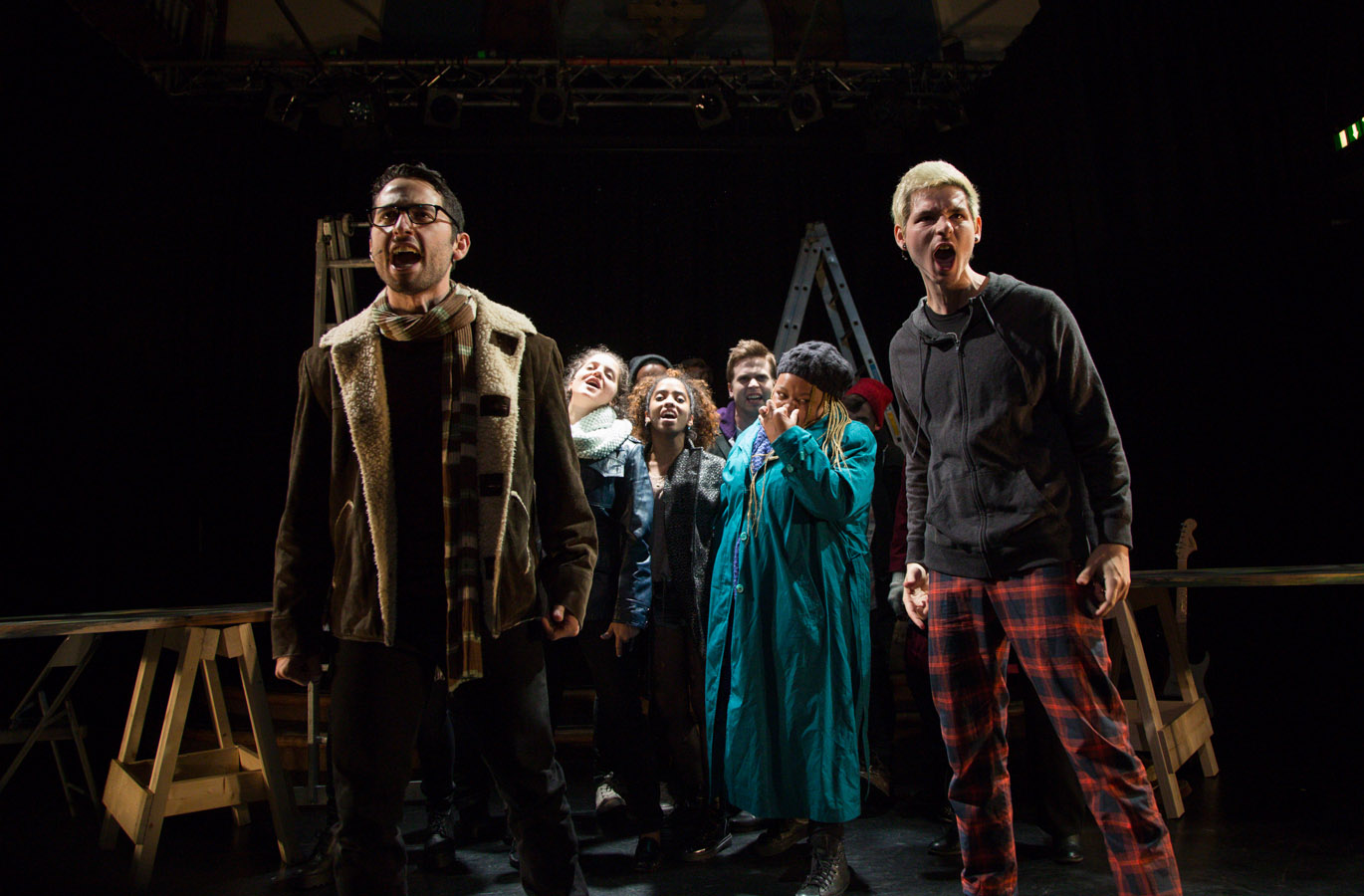 """RENT for a new generation, with a faultless cast, exquisite performances, and vocals that move the soul."" - ScotsGay, Edinburgh Festival Fringe for RENT (2015)"